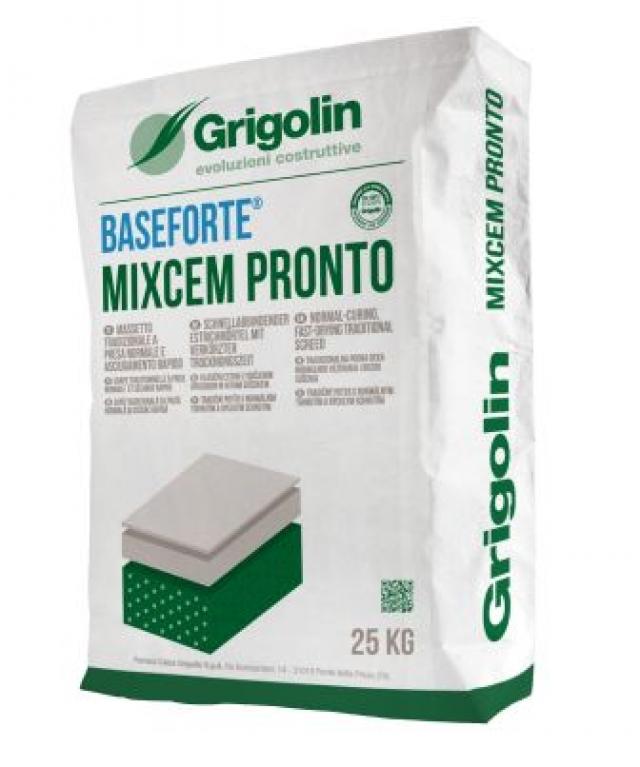 Baseforte mixcem pronto massetto tradizionale a presa - Massetto tradizionale ...