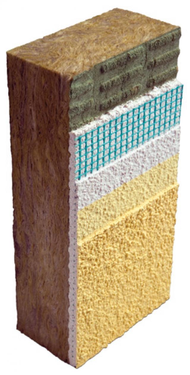 Pannelli in lana di roccia per cappotto | Operadonuva